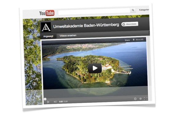 YouTube Kanal der Umweltakademie