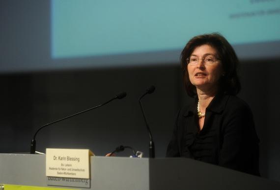Dr. Karin Blessing, stellv. Leiterin der Umweltakademie Baden-Württemberg