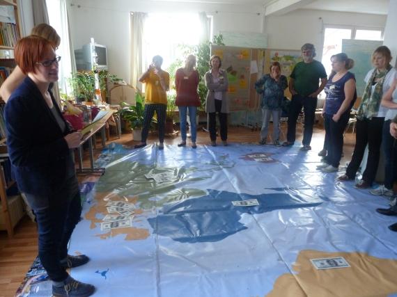 Nachhaltigkeits-Workshop - Foto: Sabine Ratzel