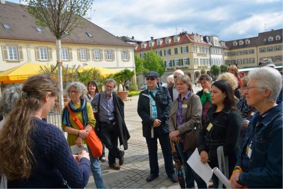 Nachhaltigkeitsguides unterwegs in Ludwigsburg